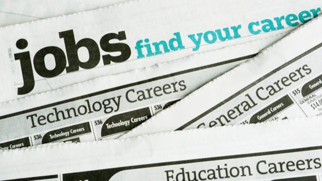 Photo. Job Opportunities.