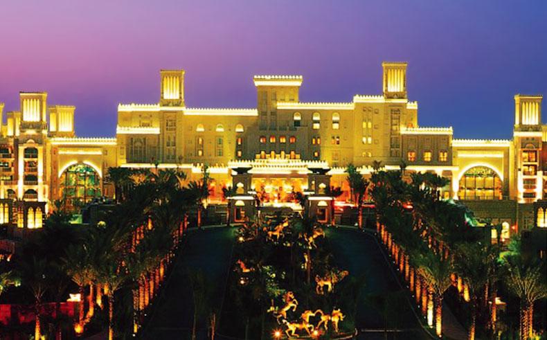 Night Photography of Madinat Jumeirah in Dubai