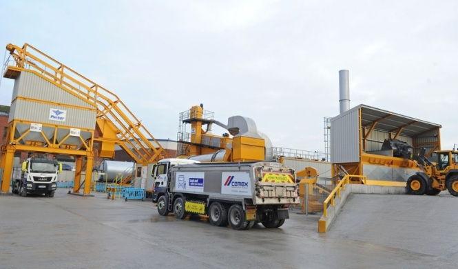 Liverpool Docklands Asphalt Plant