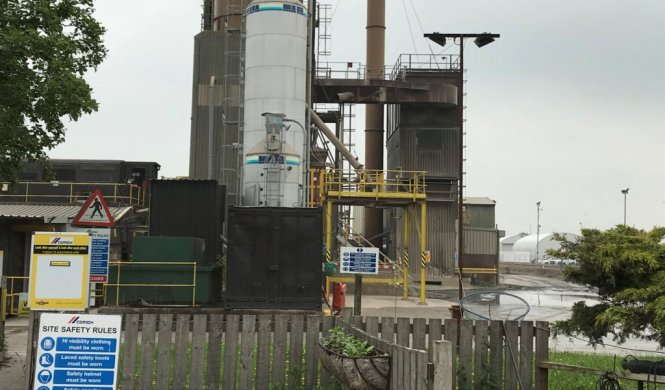 Selby Asphalt Plant and Depot