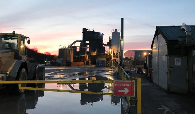 Nottingham Asphalt Plant