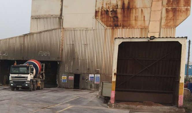 Cardiff Concrete Plant