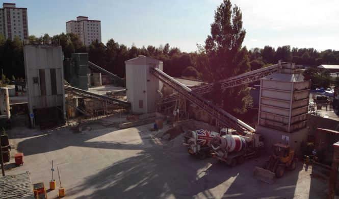 Oldham Concrete Plant