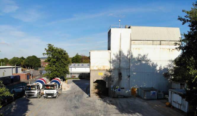 Macclesfield Concrete Plant