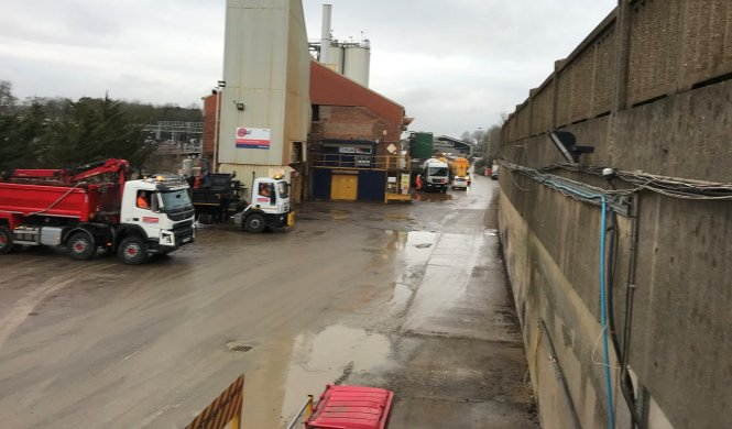 Bletchley Asphalt Plant and Dry Silo Mortar