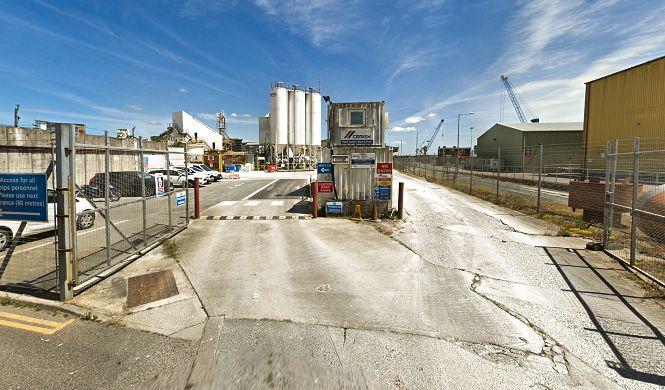 Poole Concrete Plant and Aggregate Wharf