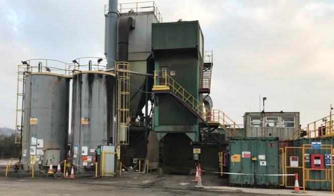Sheffield Asphalt Plant and Aggregates Depot