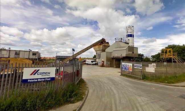 Peterlee Mortar Plant