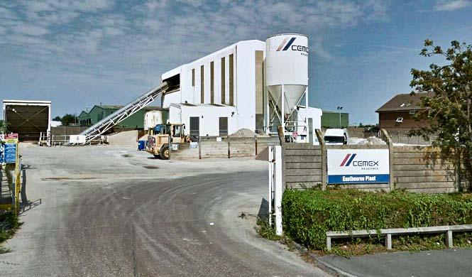 Eastbourne Concrete Plant