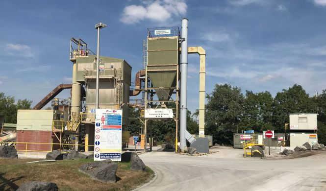 Liverpool Huyton Asphalt Plant