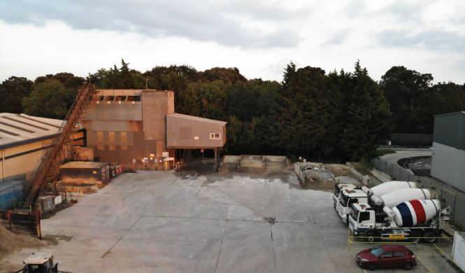 Totton Concrete Plant