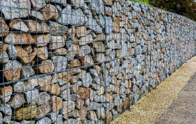 Gabionensteine für Umwelt