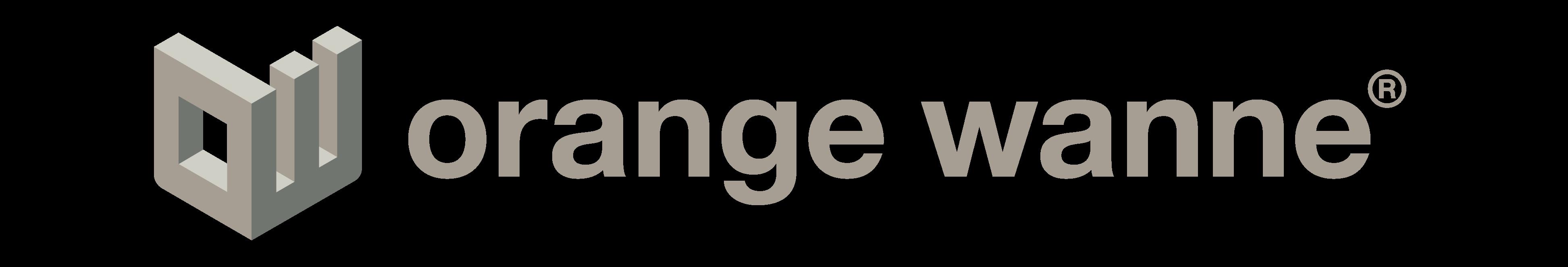 Orange Wanne