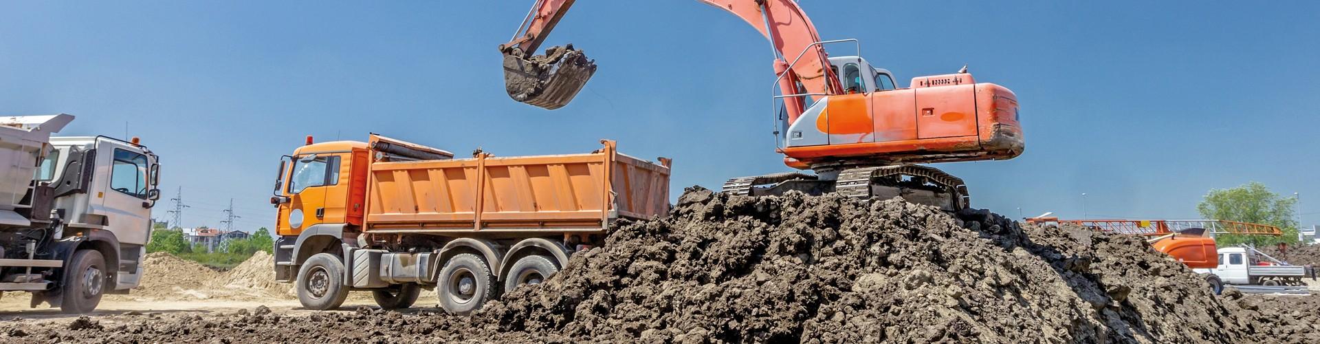 Reprise de terres de chantiers