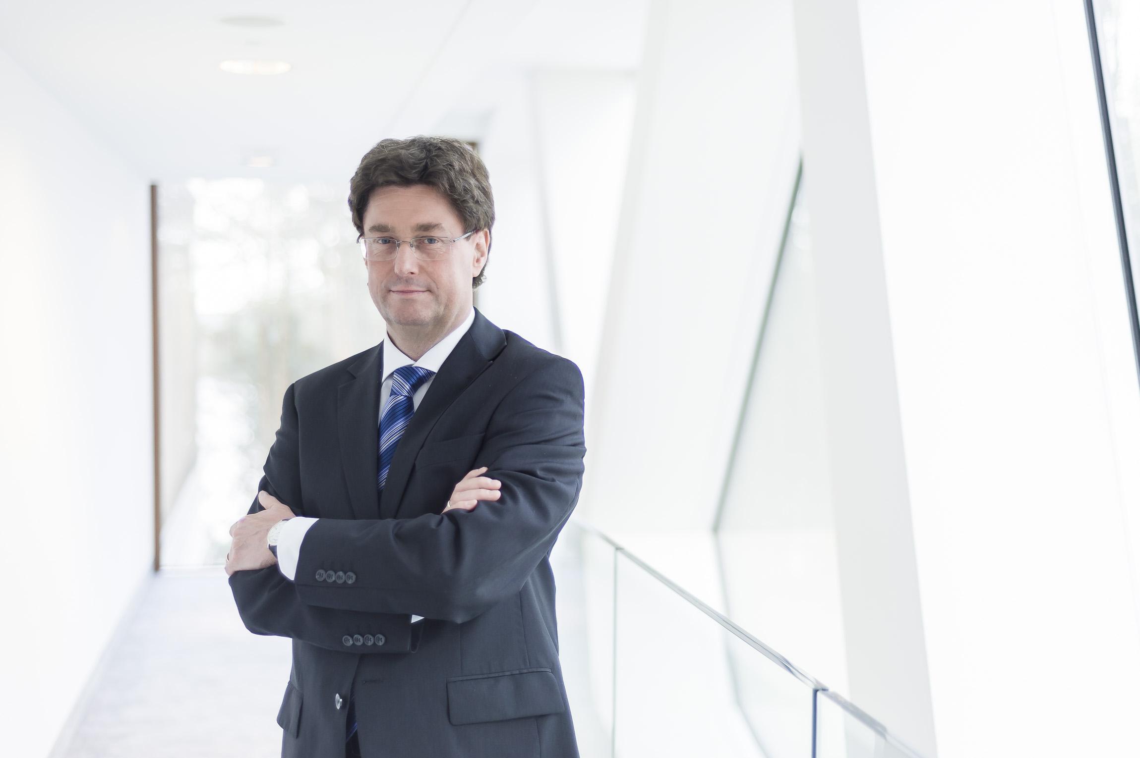 Rüdiger Kuhn, Vostandsvorsitzender der CEMEX Deutschland AG (Foto: CEMEX)